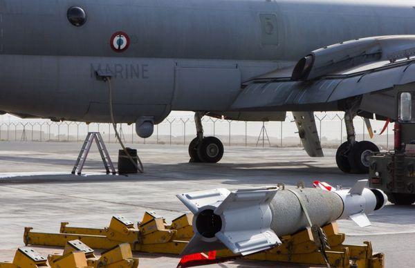Chammal : Un Atlantique II effectue sa première frappe au-dessus de l'Irak