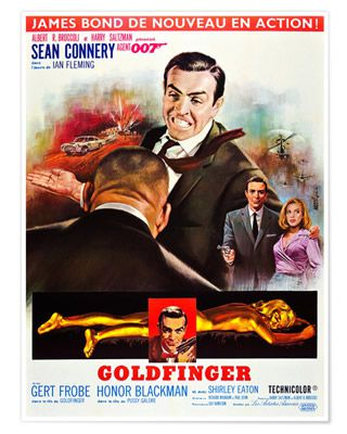 Goldfinger de Guy Hamilton