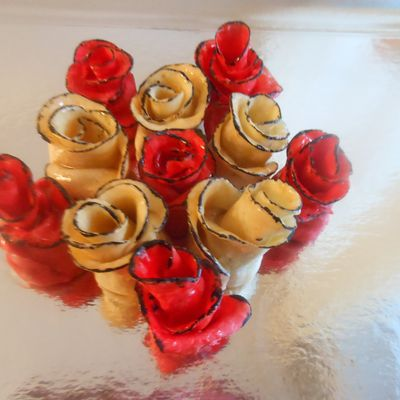 Roses gourmandes !