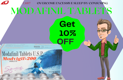 Overcome excessive sleep by consuming Modafinil tablets
