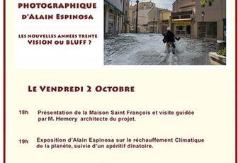 INAUGURATION DE LA MAISON SAINT FRANCOIS : LE PROGRAMME DE VENDREDI