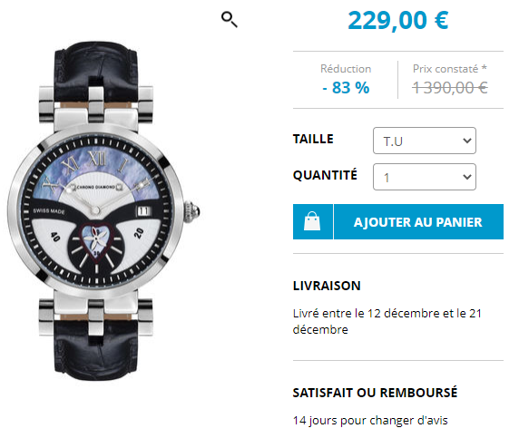 Avis Chrono Diamond