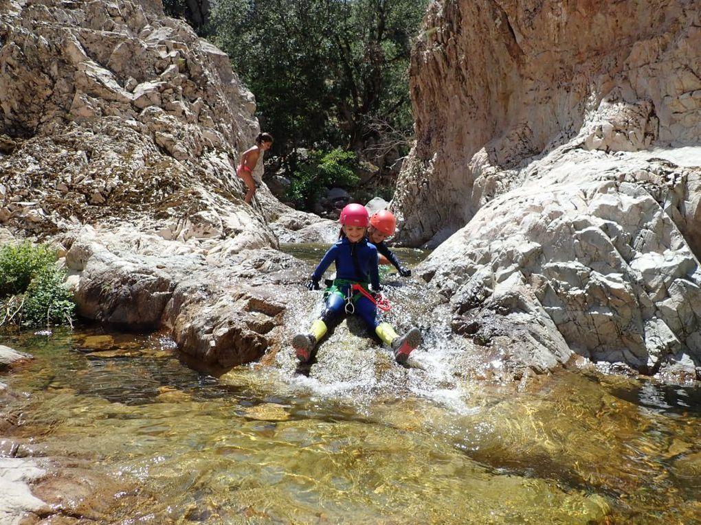 canyon E'Forru: pas mal d'eau et de très belles cascades