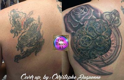 tatouage recouvrement ancien tatouage