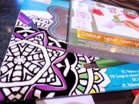 Lot - 2 - Concours - Papiers - Tampons - Coloriage - Loisirs créatifs - Carterie - Anniversaire