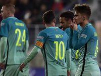 Barcelona 4-0 Ewald |Comprar camisetas de fútbol baratas 2017 €14.9!!|  Camiseta de barcelona 2016 2017 tercera €14.9