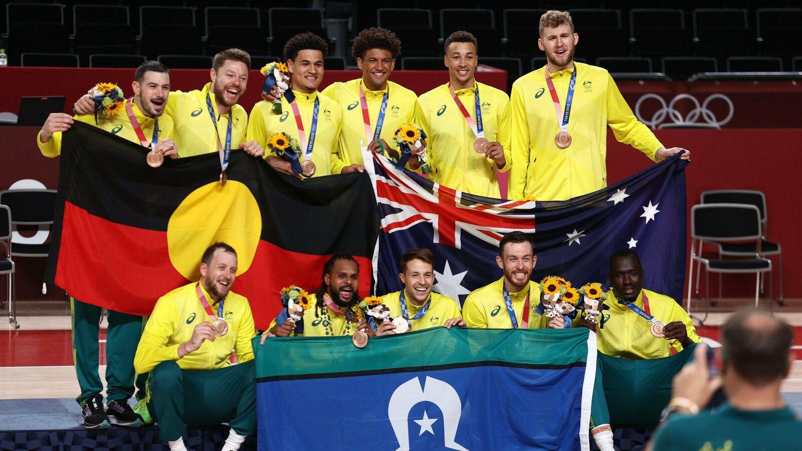 Retour en images sur la première médaille olympique des Boomers de l'Australie