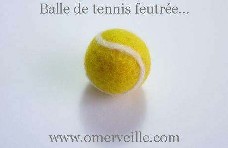 Balle de tennis... feutrée pour Roland Garros !