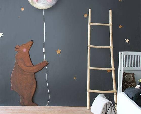 Habillez les murs dans une chambre d'enfant