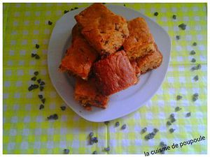 Chocolate chips blondies au thermomix ou sans