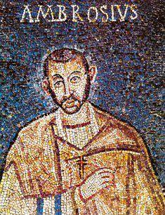 7 Dicembre : Sant'Ambrogio - Preghiere e vita