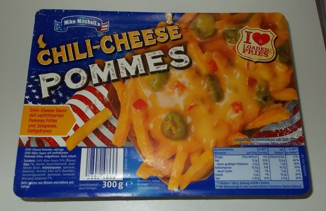 Penny Mike Mitchell's Chili-Cheese Pommes