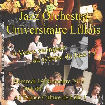 Concert à l'espace culture de Lille 1