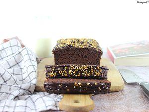 Cake Chocolat Courgette {Sans Beurre}