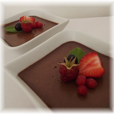 Crème chocolat au mascarpone...