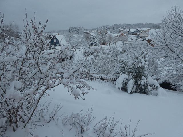 Que de neige !