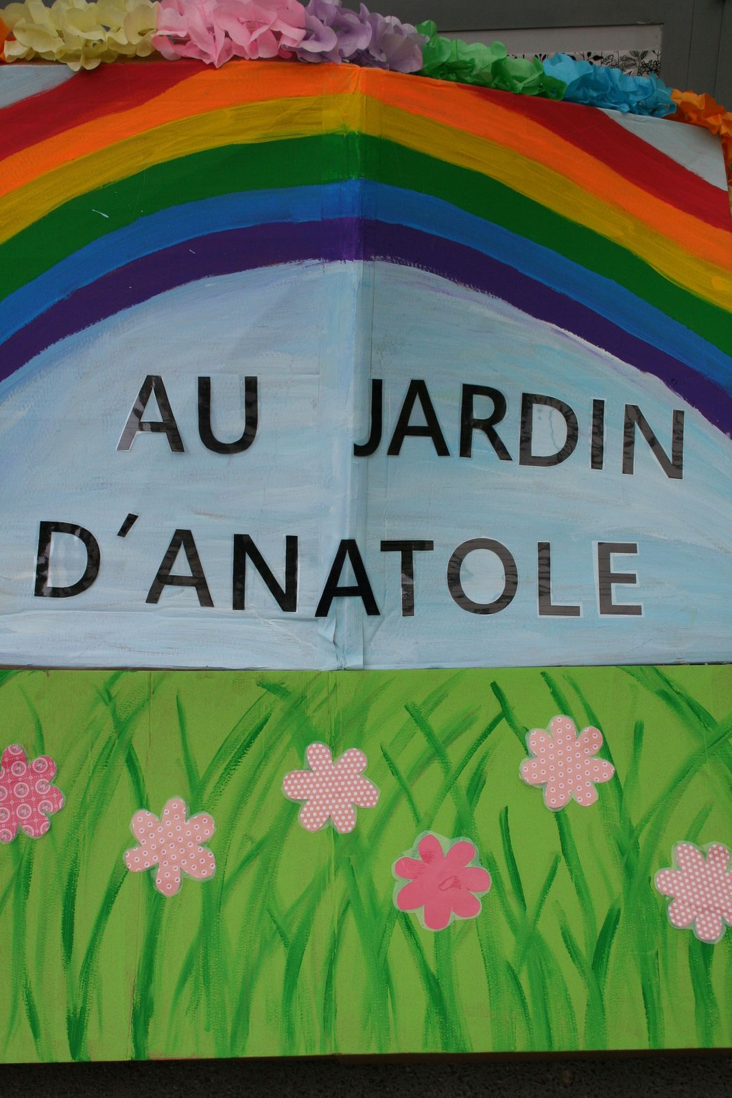 Centre ANATOLE FRANCE Maternelle. Groupe des petits. Juillet 2021.