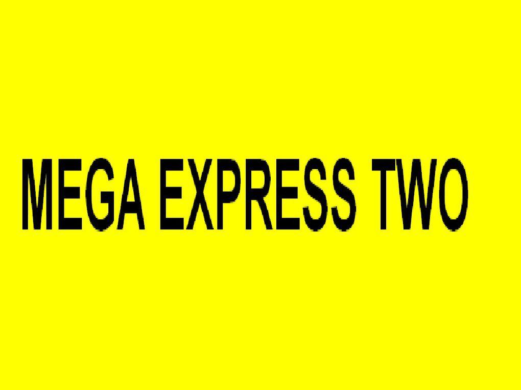 MEGA EXPRESS TWO  ,  a quai à Toulon / Brégaillon le 10 octobre 2014