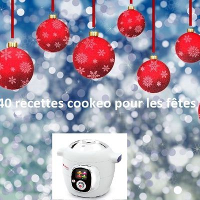 + De 200 recettes cookeo pour les fêtes de fin d'année