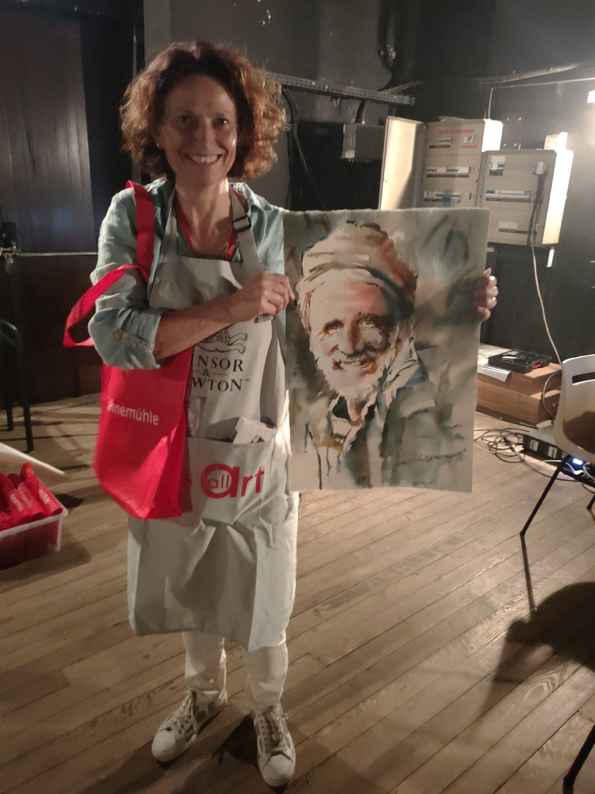 Séjour artistique dans les Landes: domaine de Preuilh Morcenx 40110 Stage d'aquarelle en immersion totale avec Claude Allègre