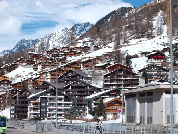 Album - Etranger - Suisse  Zermatt (Canton du Valais)
