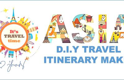 DO IT YOURSELF ITINERARY FOR SOUTH EAST ASIA TOURS