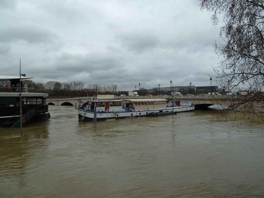 La Seine en a-t'elle fini de monter....monter ??