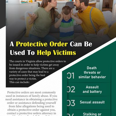 A Protective Order Can Be Used To Help Victims