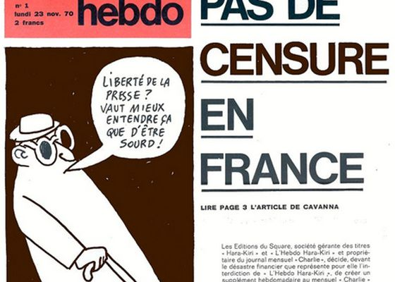 REPOST LE PAPIER DES ONDES / Cela s'est passé un... 23 novembre : 1970, la naissance de Charlie Hebdo