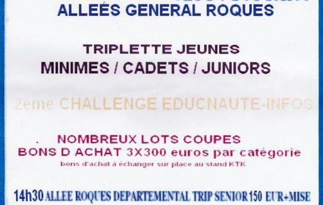 MARSEILLAN : 4ème Etape du Challenge EDUCNAUTE-INFOS 2014