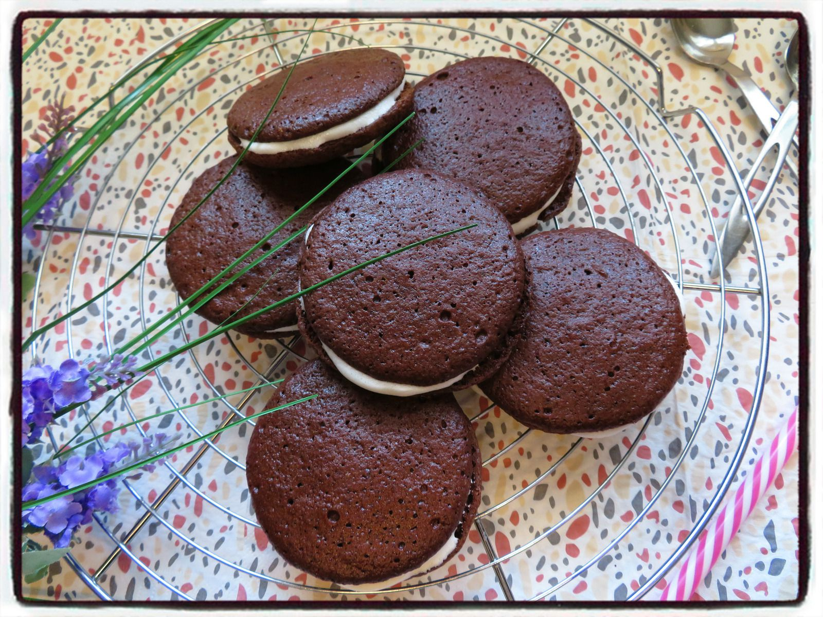 whoopies chamallows