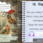 Alice's Adventures in Wonderland - CHAPTER 1 by Maxime Chanet on Genially