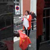 Saint-Quentin, 150 personnes ont répondu à l'appel pour nos libertés lancé par le PCF -14/7/2021.
