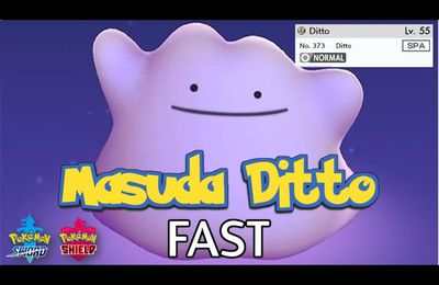 How to Use Trade Code to Get Ditto in Pokémon Sword and Shield