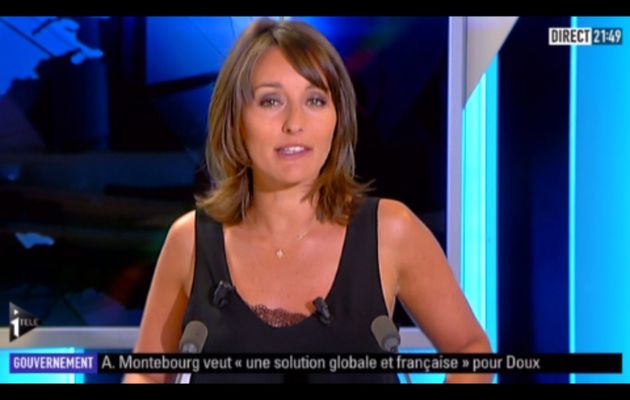 [2012 07 02] AMANDINE BEGOT - I>TELE - L'EDITION DU SOIR @21H30