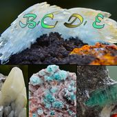 Ma Collection en Photos: B, C, D, E - Rock Mineral Valley THE Minerals Blog !