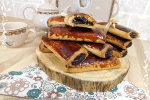Biscuits fourrés noisette chocolat