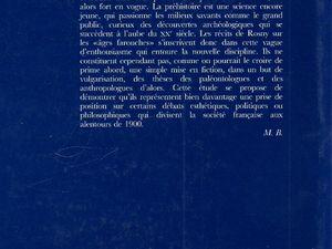 """Mélanie Bulliard """"L'Enjeu des origines : les romans préhistoriques de J.H. Rosny Aîné"""" (2001)"""