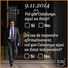 Parti de la Nation Occitane : Pour le référendum en Catalogne