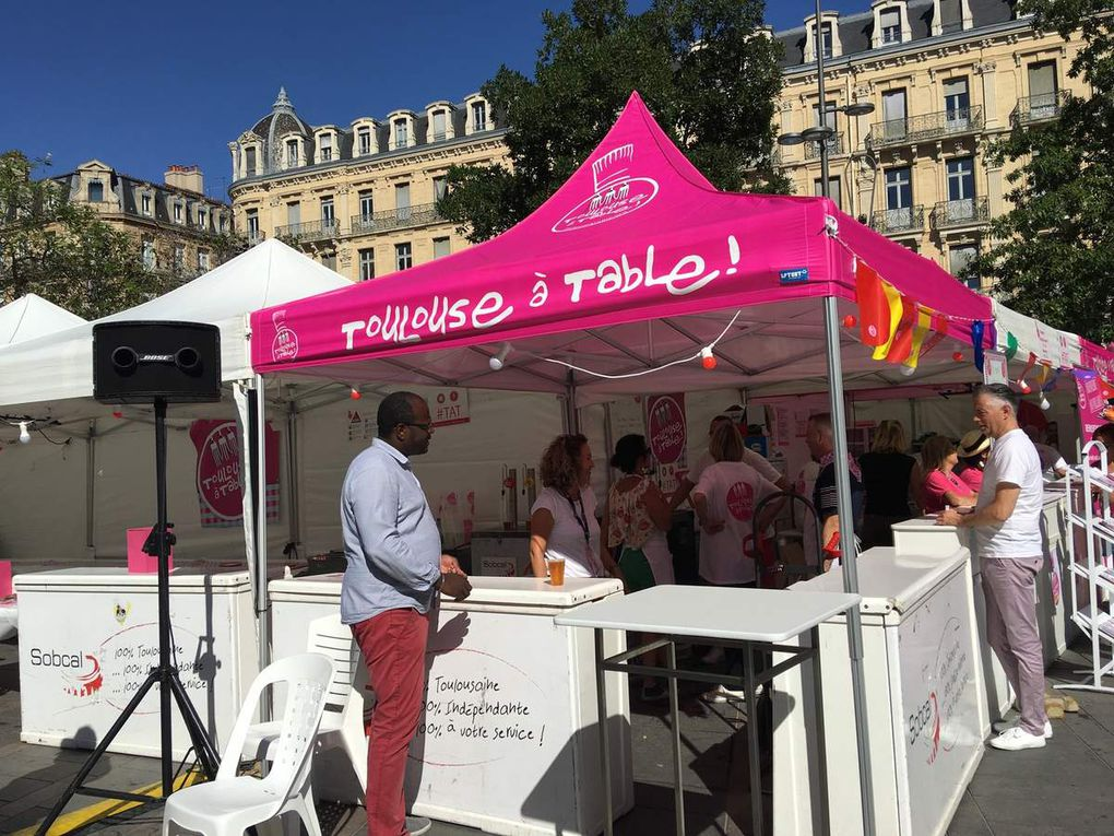 FESTIVAL TOULOUSE A TABLE 2019 - VILLAGE GOURMAND DU MERCREDI 4 AU 7 SEPTEMBRE