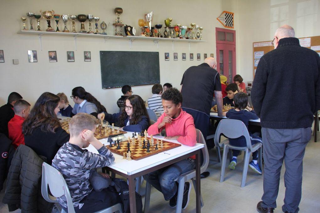 diaporama tournoi échecs Orange vacances d'hiver