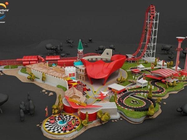 Ouverture d'un parc d'attractions Ferrari Land en Espagne !