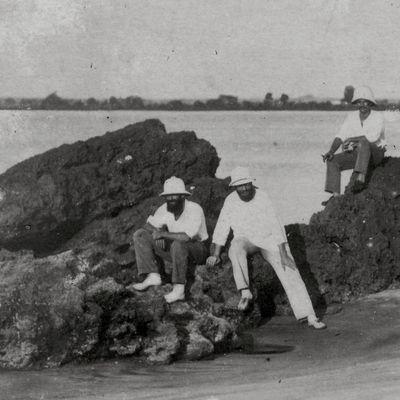 Pointe-Noire : les rochers noirs disparus...