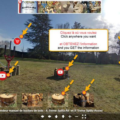 This is the wood splitter of the FUTURE - Splitting wood has never been so easy!