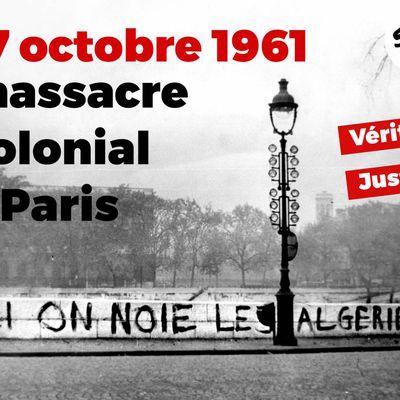 17 octobre 1961 : un massacre colonial à Paris