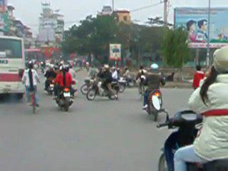 Vidéos des rues de Hanoi