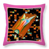 Shot Shift - Jugement Variant Throw Pillow for Sale by Michael Bellon