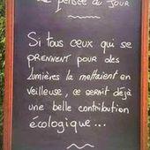 Humour du jour: Pensée écologique - Doc de Haguenau