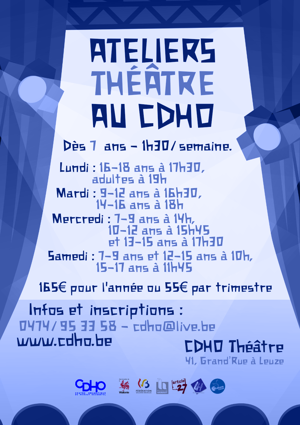 Ateliers, cours et stages
