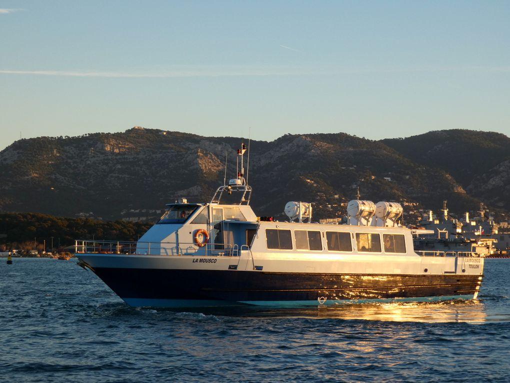 LA MOUSCO , arrivant à la Seyne sur Mer le 02 janvier 2019